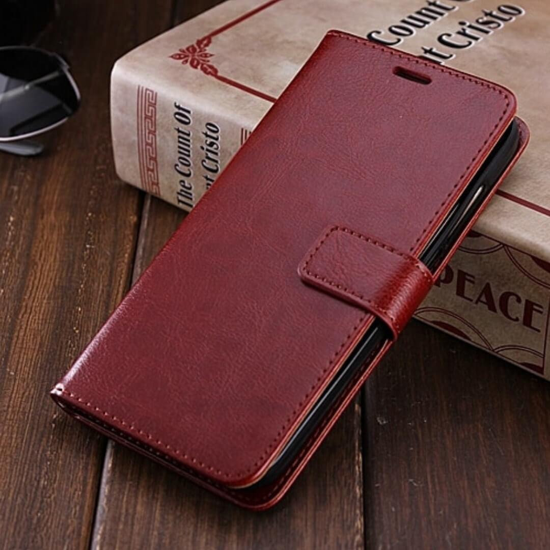 Flip Wallet Cover Case Samsung Galaxy A9 Pro 1