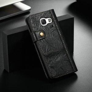 Flip Wallet With Card Slot C9 Pro Black