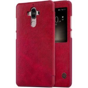 Nillkin Qin Series Leather case for Huawei Mate 9 Merah