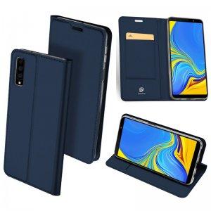 Original DUX DUCIS PU Leather Case For Samsung Galaxy A7 2018 Luxury Flip Wallet Case Cover 0 compressor 1