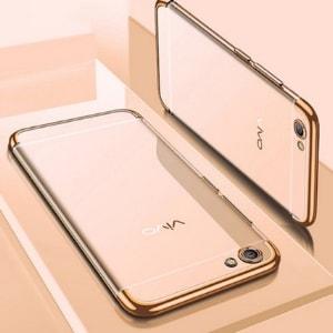 Soft Case Neonlignt Vivo y71 Gold