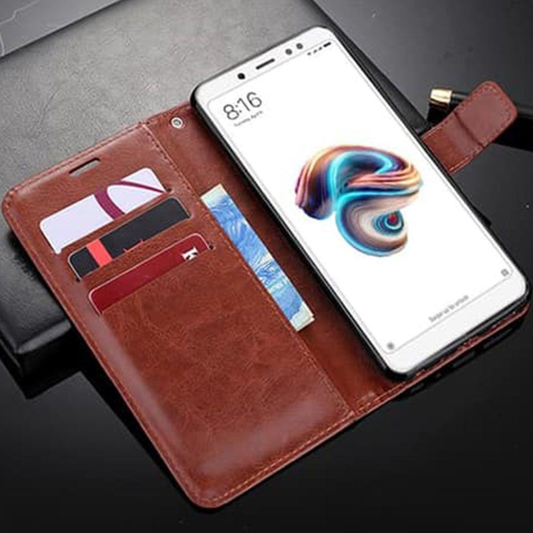 asus zenfone max pro m1 leather flip cover wallet detail 2 compressor