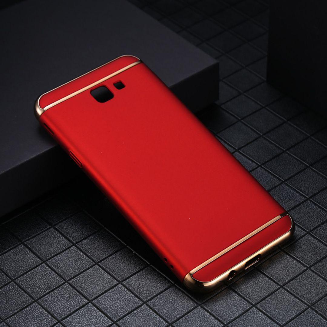 samsung j7 prime plating 3 in 1 ultra thin slim matte case merah compressor