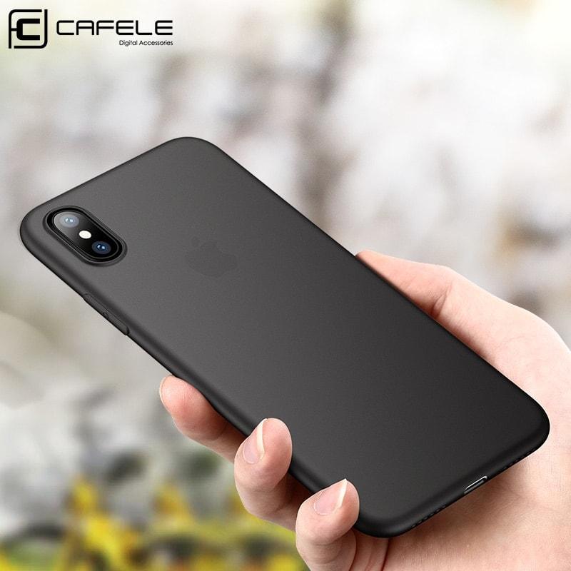 Cafele Matte TPU Phone Case for iPhone XS 5 8 XS MAX 6 5 Ultra thin 1 min