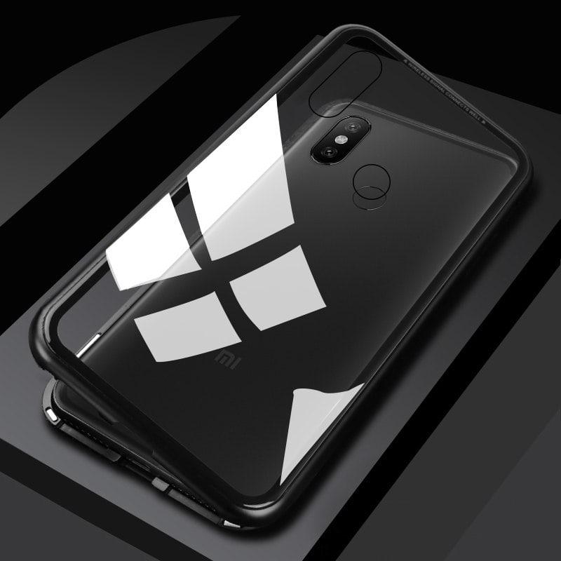 Magnetic Glass Case Xiaomi Redmi Note 5 Note 5 Pro min