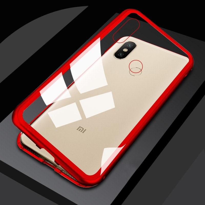 Magnetic Glass Case Xiaomi Redmi Note 5 Note 5 Pro 2