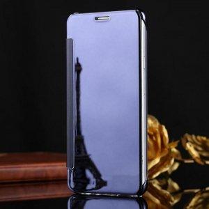 Samsung Galaxy J7 Plus Flip Mirror Cover Dark Blue compressor