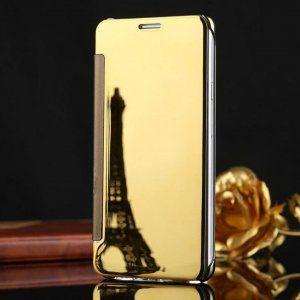 Samsung Galaxy J7 Plus Flip Mirror Cover Gold compressor 1 300x300 compressor