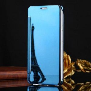 Samsung Galaxy J7 Plus Flip Mirror Cover Sky Blue compressor