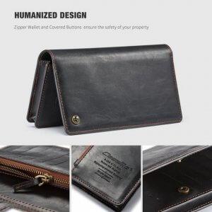 Samsung Galaxy J7 Plus Wallet Case Universal Phone Bag Leather Case1 compressor