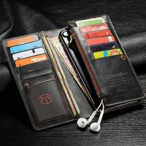Samsung Galaxy J7 Plus Wallet Case Universal Phone Bag Leather Case2 compressor