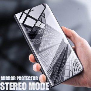 Xiaomi Mi A2 Lite Clear View Standing Cover Hard Case Black
