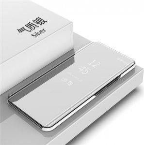 Xiaomi Mi A2 Lite Clear View Standing Cover Hard Case Silver