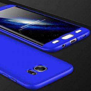 S6 Edge Blue Metalik