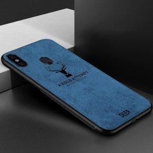 Deer Cloth Case Original Xiaomi Redmi Note 5 Note 5 Pro Blue