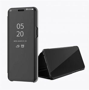 Xiaomi Mi 8 Lite Clear View Standing Cover Case Black