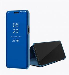 Xiaomi Mi 8 Lite Clear View Standing Cover Case Blue