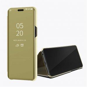 Xiaomi Mi 8 Lite Clear View Standing Cover Case Gold