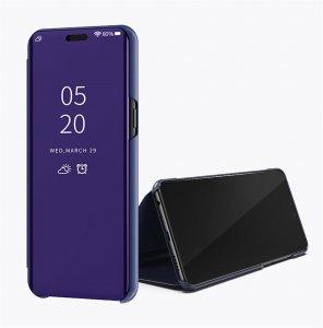 Xiaomi Mi 8 Lite Clear View Standing Cover Case Purple