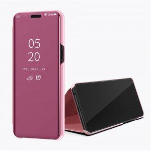 Xiaomi Mi 8 Lite Clear View Standing Cover Case Rosegold