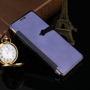 Flip Mirror Case Samsung A3 2016 Ddark Blue min