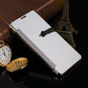 Flip Mirror Case Samsung A3 2016 Silver min