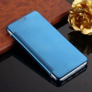 Flip Mirror Case Samsung A3 2016 Sky Blue min
