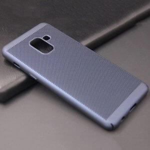 Ultra Slim Phone Hard Case Cool Back Samsung A8 A8 Plus Blue