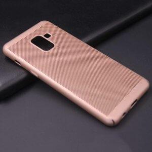 Ultra Slim Phone Hard Case Cool Back Samsung A8 A8 Plus Gold