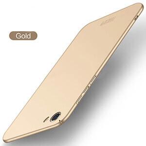Vivo Y55s Baby Skin Ultra Thin Hard ase Gold