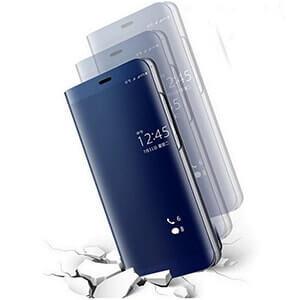 Xiaomi Redmi 4A Clear view standing cover case sky anti getar min
