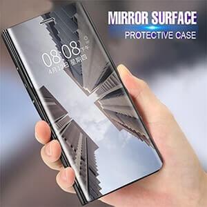 Xiaomi Redmi 6 Pro Clear View Standing Cover Case