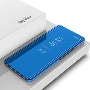 Xiaomi Redmi 6 Pro Clear View Standing Cover Case Blue