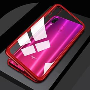 0 Magnetic Adsorption Metal Phone Case For Xiaomi Redmi Note 7 5 6 Pro 6A Mi 9 min