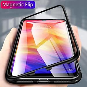 5 Metal Magnetic Adsorption Case For Xiaomi 9 8 SE Mi 8 Lite F1 Redmi 7 6A min