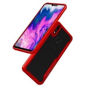 Case IPAKY Hybrid HD Acrylic Vivo V9 Red min