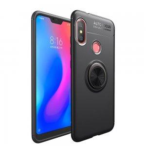 Xiaomi Mi A2 Lite Soft Case TPU With Ring Black