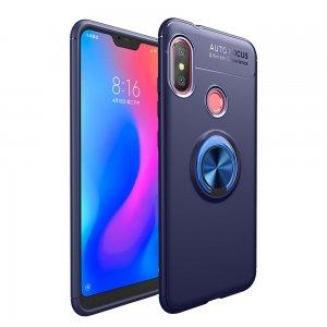 Xiaomi Mi A2 Lite Soft Case TPU With Ring Blue