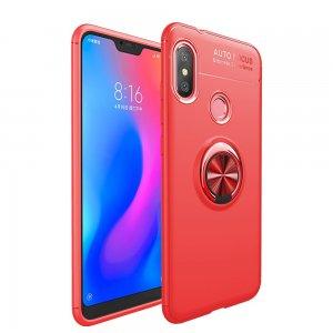 Xiaomi Mi A2 Lite Soft Case TPU With Ring Red