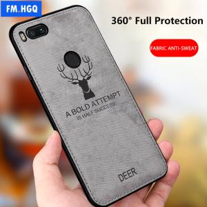 0 Hot Cloth Texture Deer 3D Soft TPU Magnetic Car Case For Xiaomi Mi 6 Mi6 Built 1
