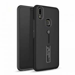 0 Luxury Anti Shock Holder Stand Phone Case For Vivo X21 X21 UD X9 V9 V5 V5Lite