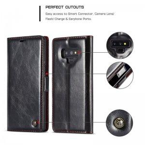 4 Flip book case For Samusng Galaxy S 8 9 Plus S 4 5 6 7 edge