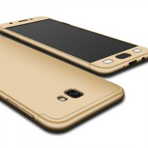 Case Armor Full Cover Matte Hard Case Samsung A3 2017 Gold min