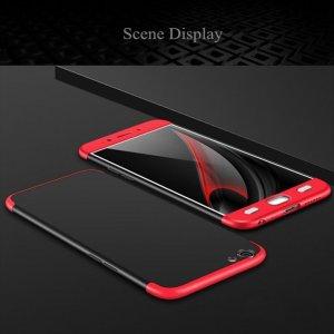 Case Armor Full Cover Oppo A57 Black Red min