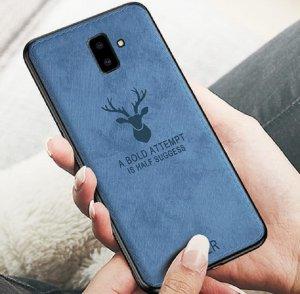 Case Canvas Deer Motif Rusa j6 plus header
