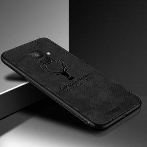 Deer Cloth Case Original Samsung A8 A8 Plus 1 1