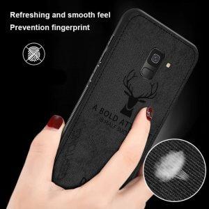 Deer Cloth Case Original Samsung A8 A8 Plus 4