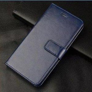 Flip Leather Wallet J6 Plus Navy