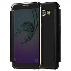 Flip Mirror Case Samsung A3 2017 Black min