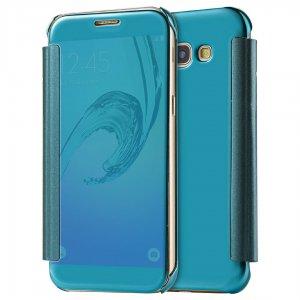 Flip Mirror Case Samsung A3 2017 Blue min
